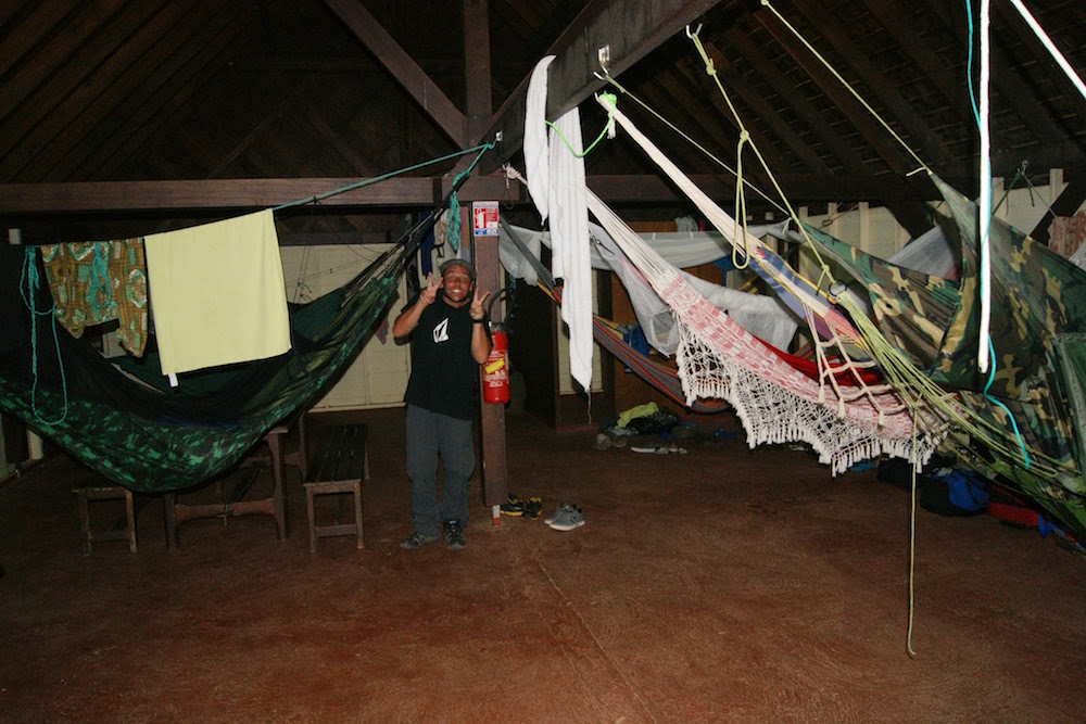 Rencontre dans le carbet municipal d'Apatou en Guyane