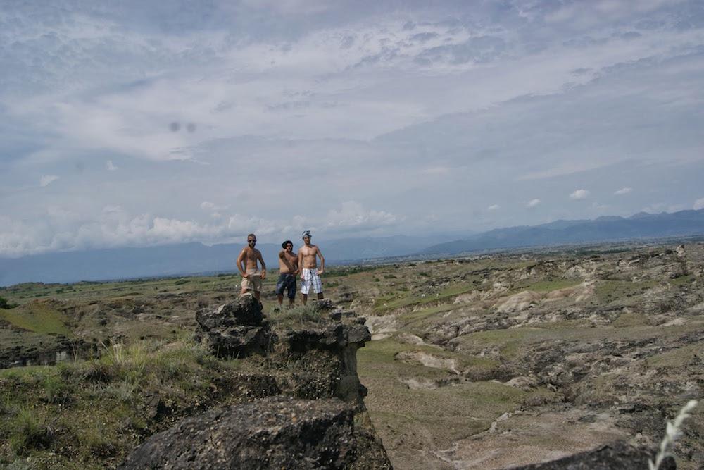 Las vantants Désert de Tatacoa Colombie