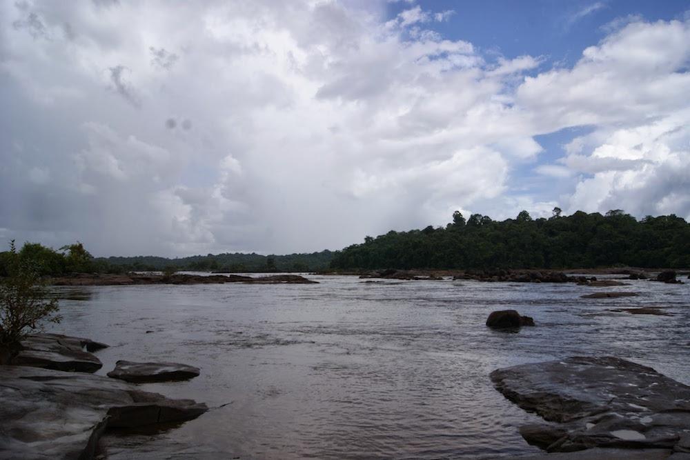 saut marina près Oiapoque Brésil