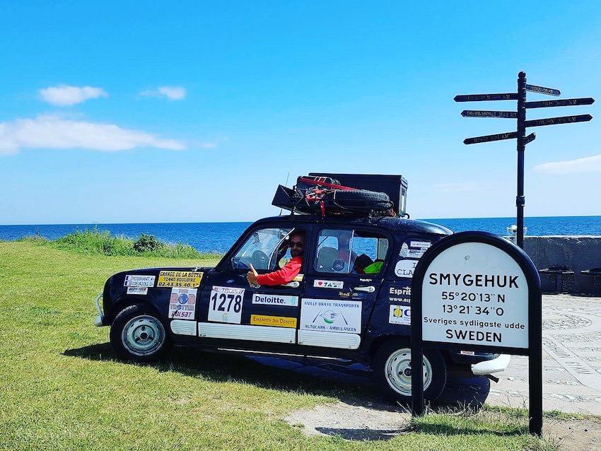 Première étape Suédoise de ce Road trip en 4L, petite virée dans le sud