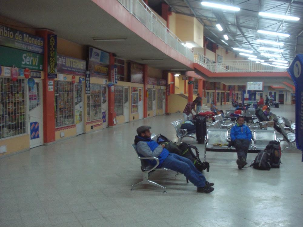 terminal de bus ipiales Colombie