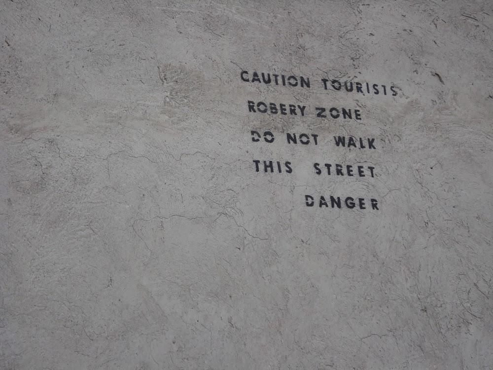 avertissement touristes Quito Equateur
