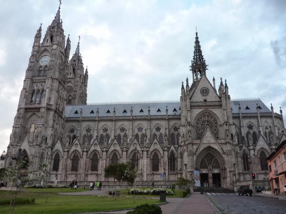 basilique quito Equateur