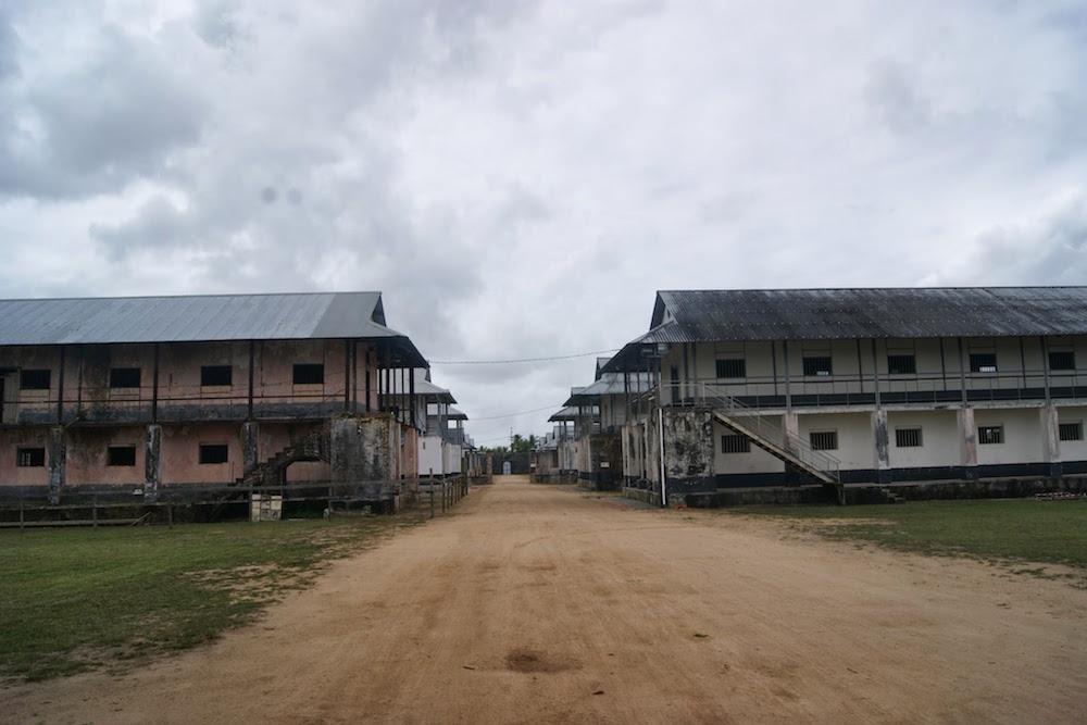 camp de la transportation saint laurent du maroni Guyane Française