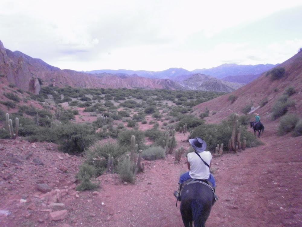 balade à cheval en Bolivie