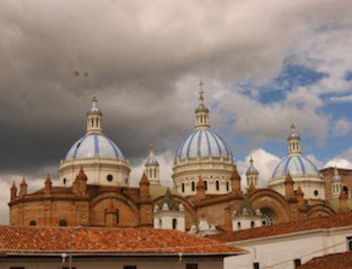 Seconde escale en Equateur, Cuenca, patrimoine mondial de l'UNESCO
