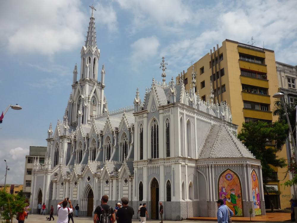 église ermita à Cali Colombie