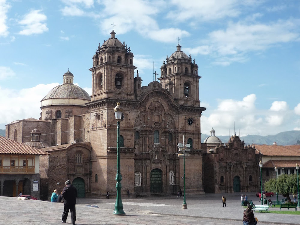 Eglise compensa de Jesus Cuzco Pérou