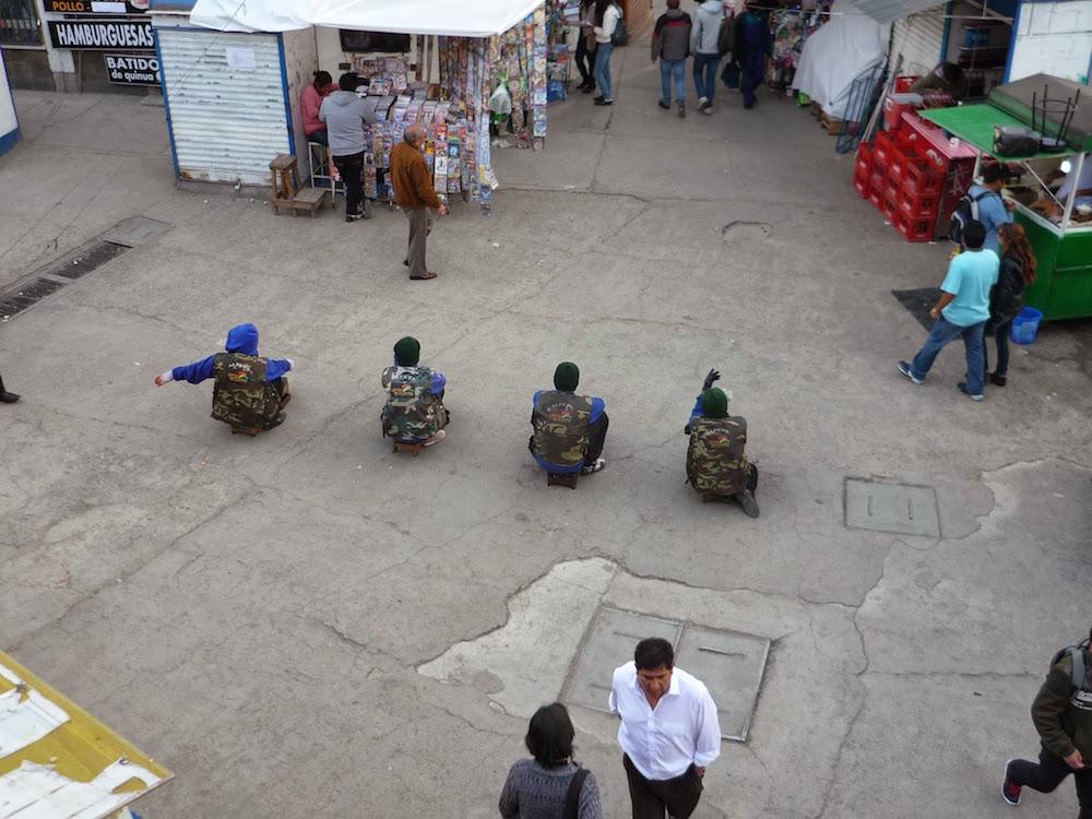 gang cireurs de chaussures la paz bolivie