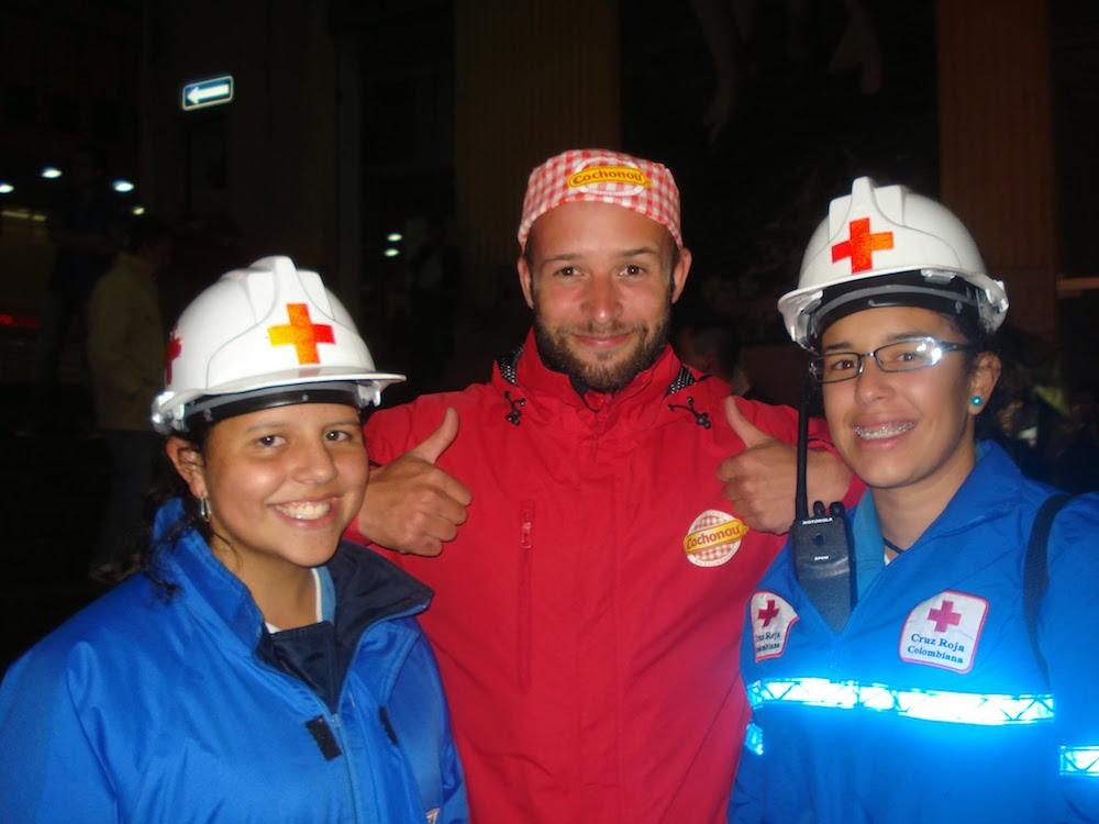 croix rouge férié de manizales Colombie