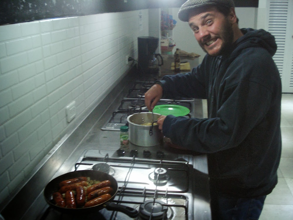 cuisine auberge fulano backpackers Bogota