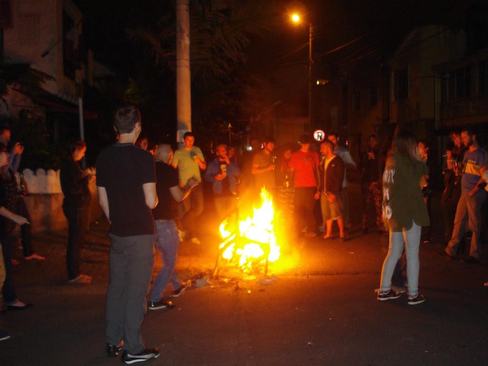 feu de joie nouvel an Colombie
