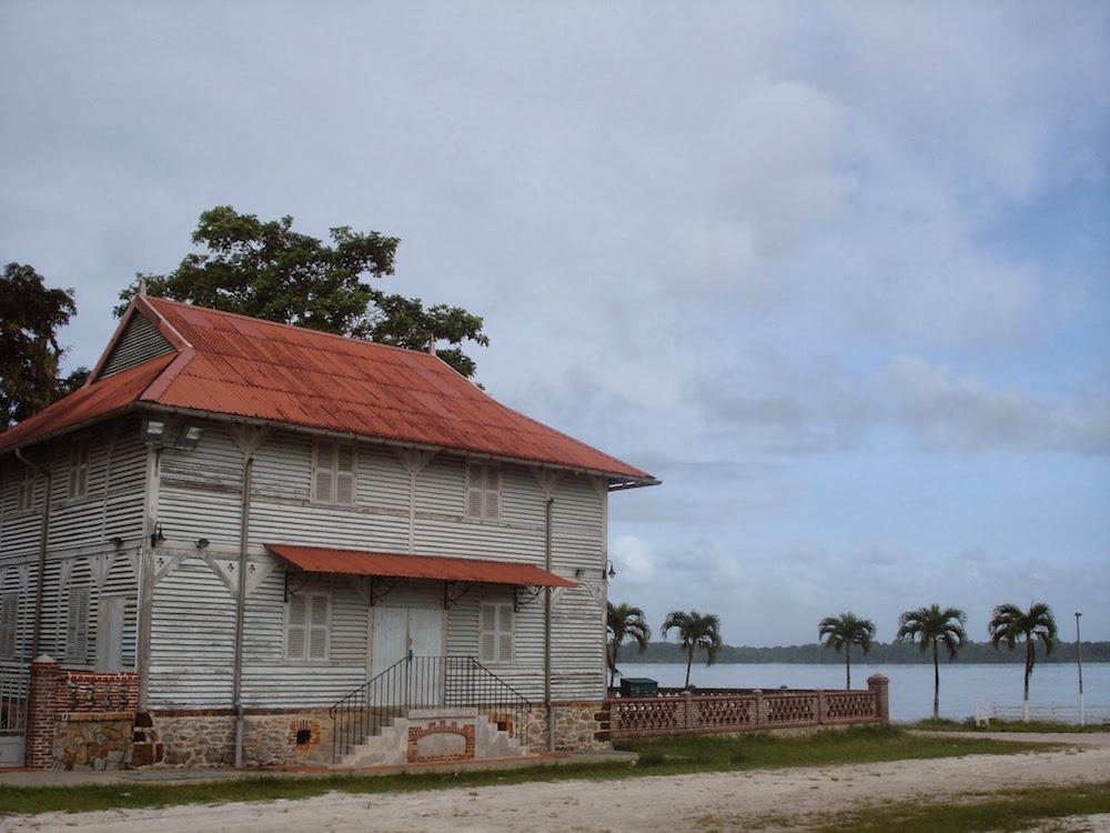 maison coloniale bagne de saint laurent Guyane