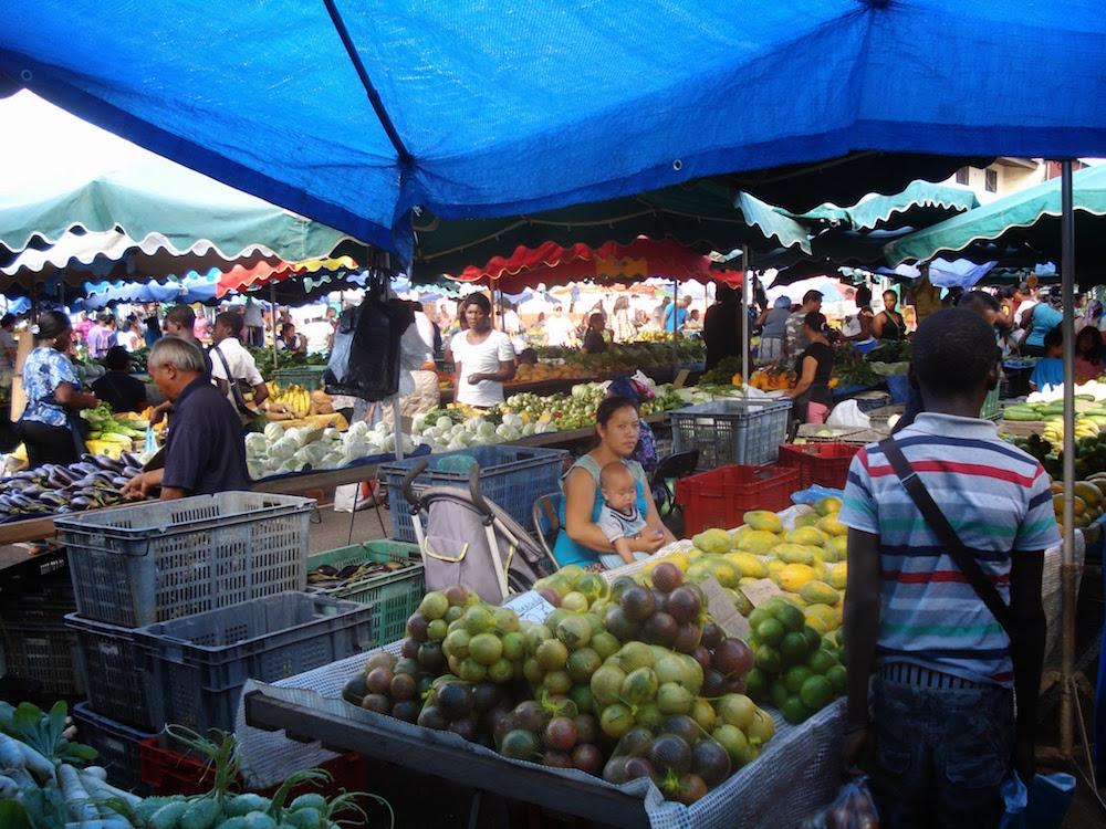 marché saint laurent du Maroni