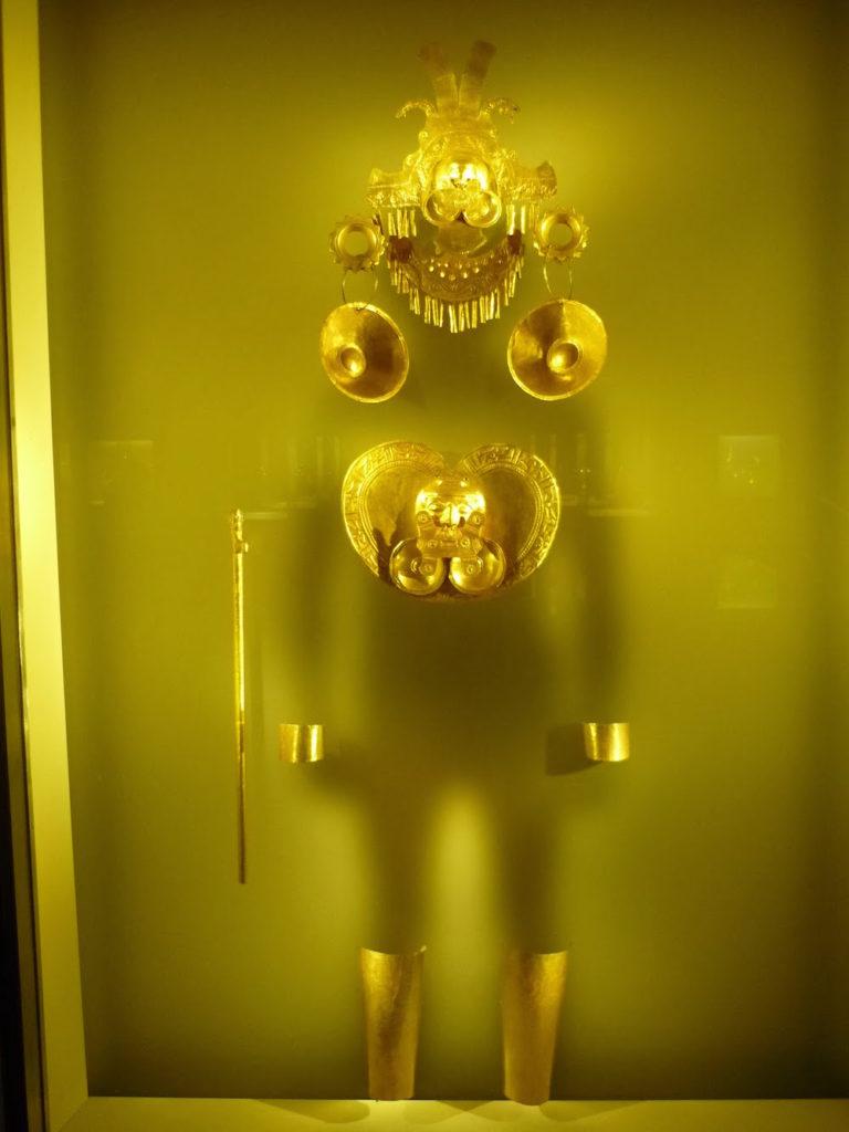 museo del oro Bogota Colombie
