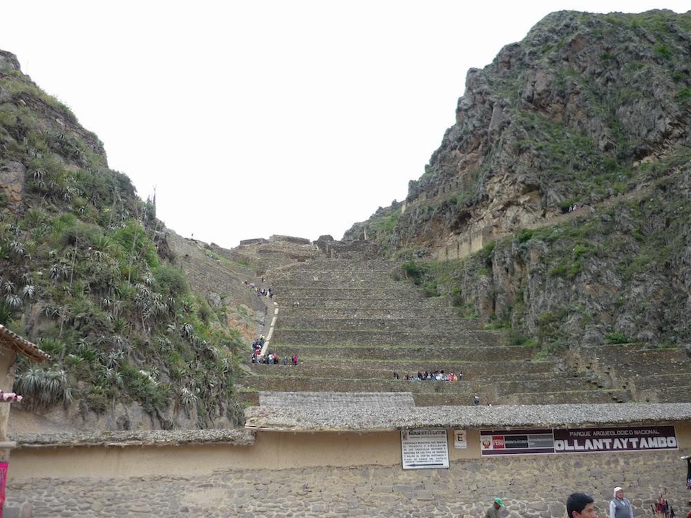 terrasses Ollantaytambo Pérou