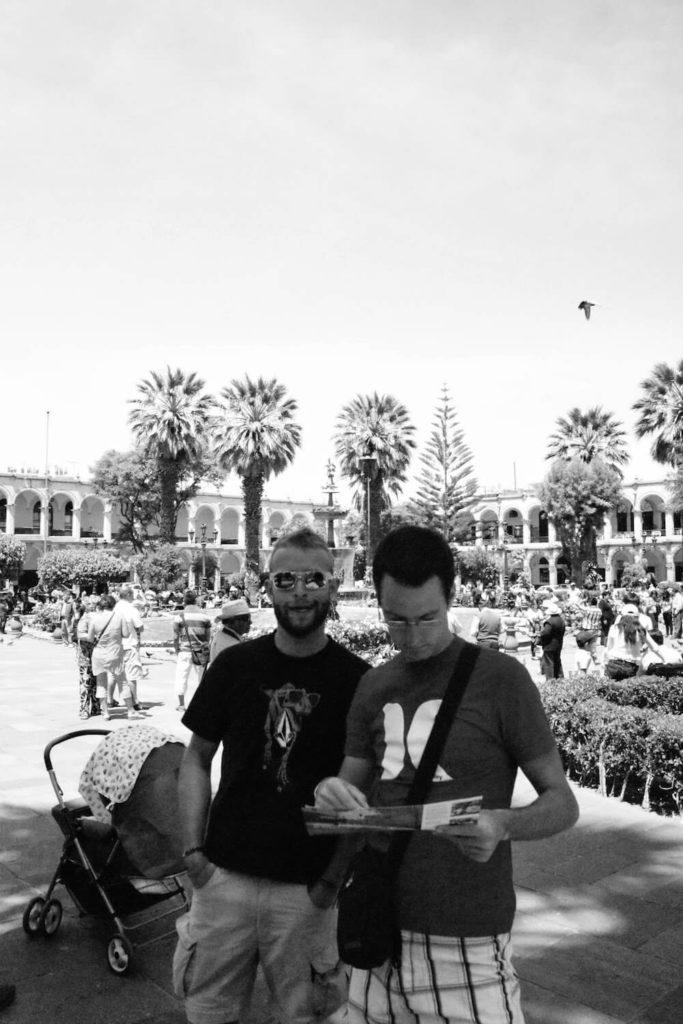 Piazza das armas Arequipa - plan