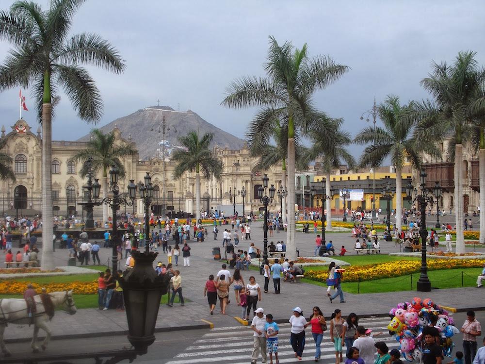 piazza mayor lima Pérou