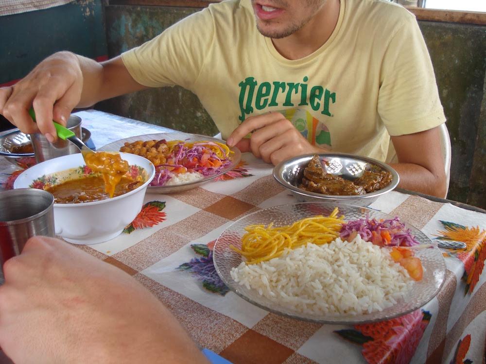 repas brésilien Oiapoque