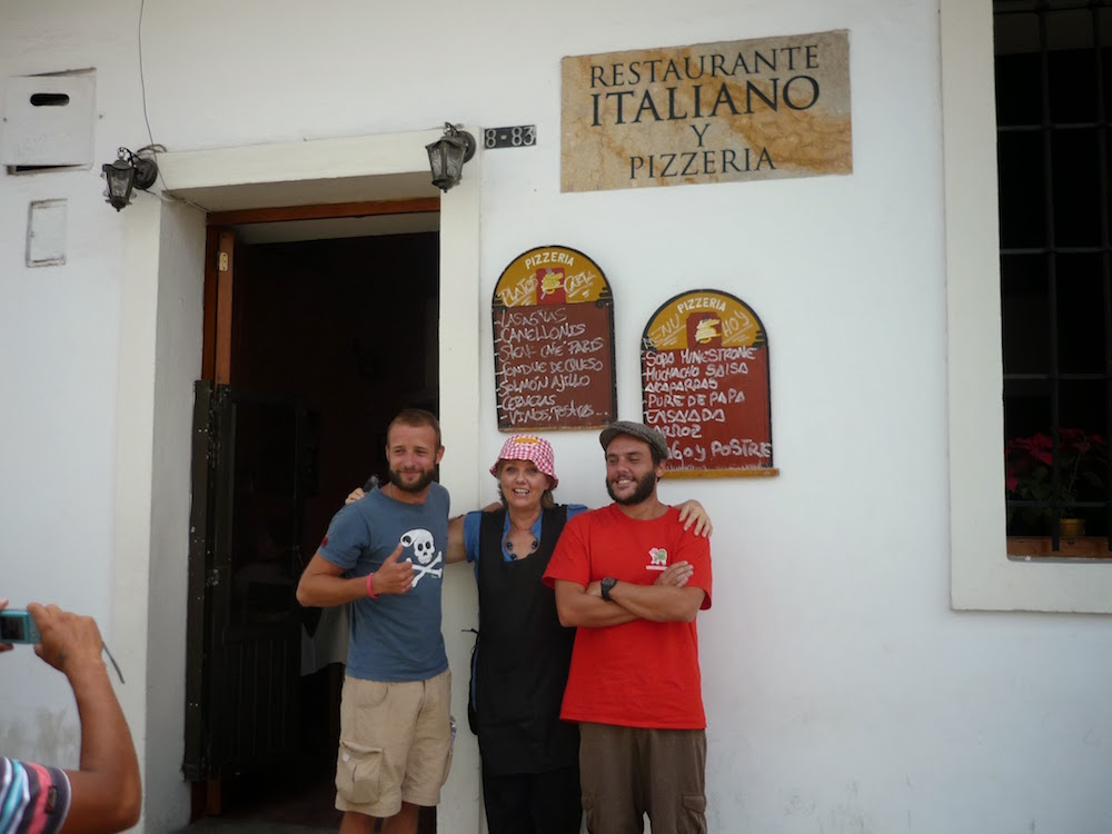 restaurant italien à Popayan Colombie