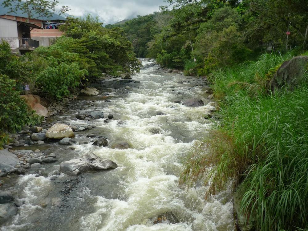 parc naturel rio parce Cali Colombie