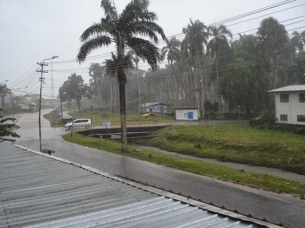 saison des pluies suriname Paramaribo