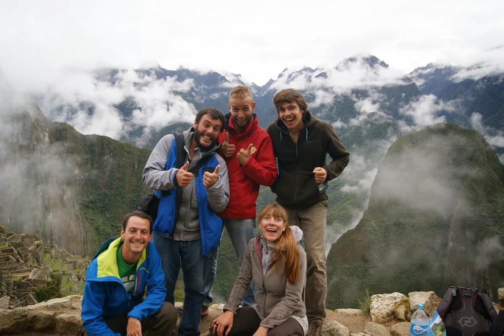 aventuriers français au machu picchu
