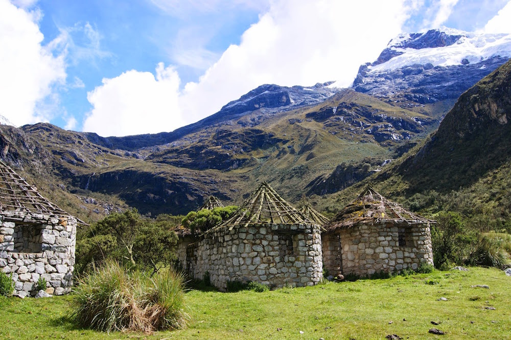 maisons de berger trek laguna 69 Pérou