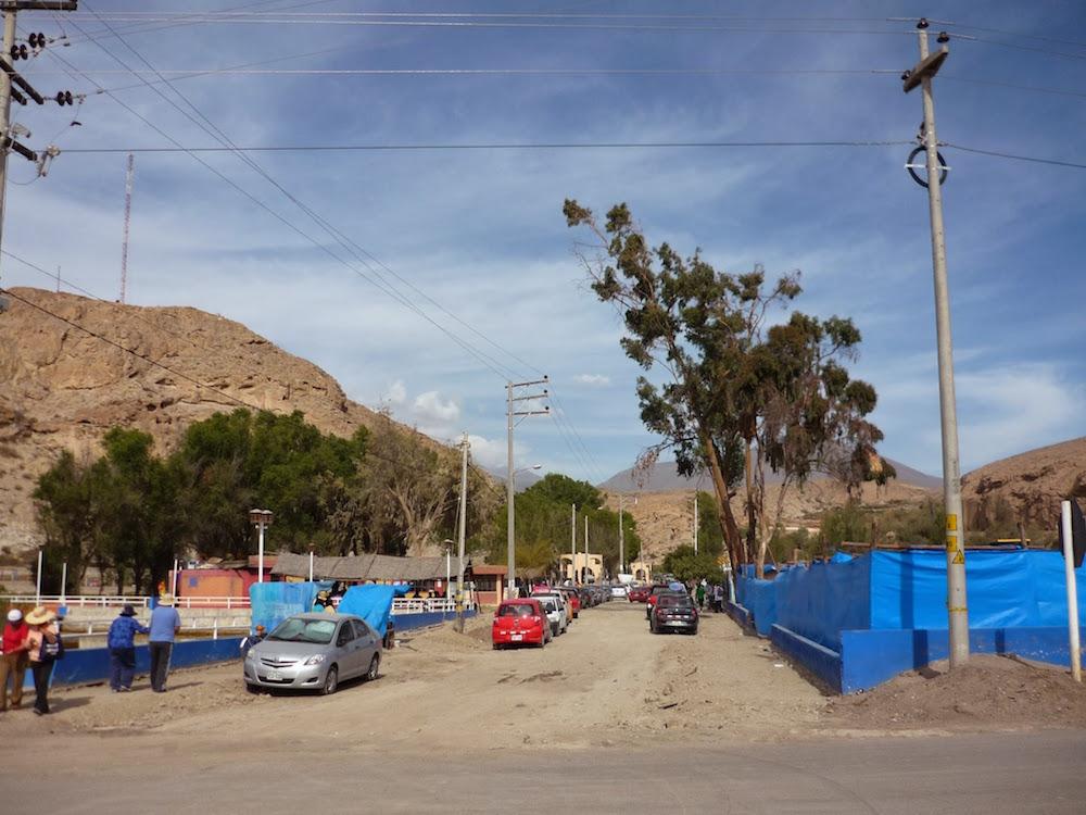 Yura ville désert Pérou