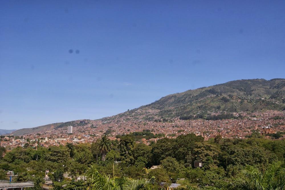 arrivée à Medellin Colombie