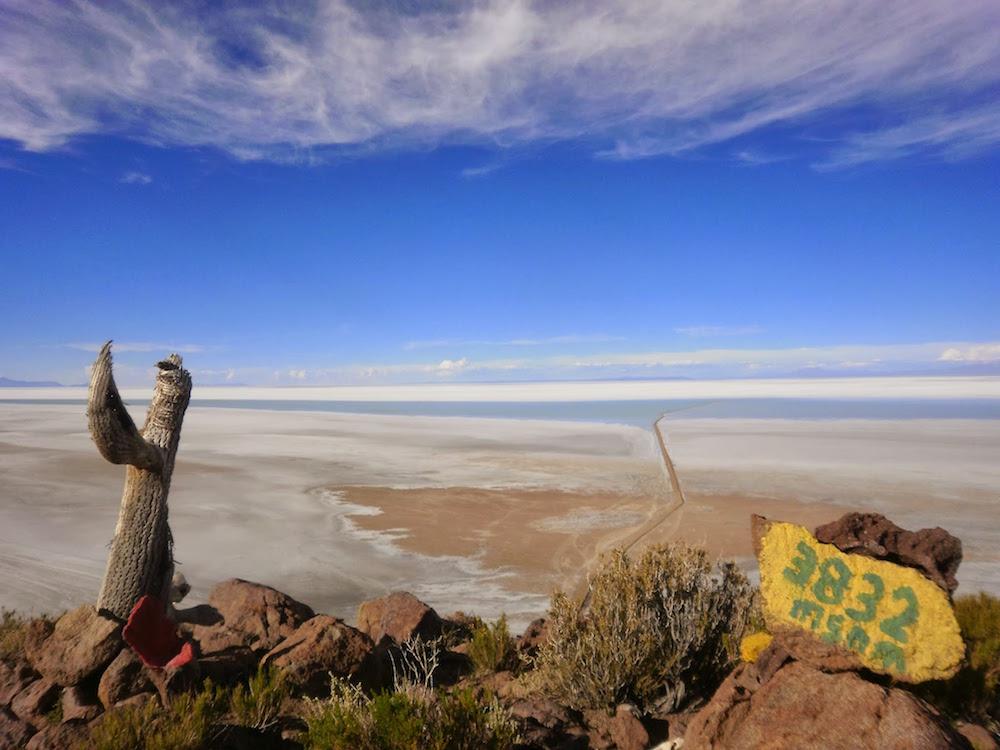 mirador sur le salar uyuni 3832 mètres