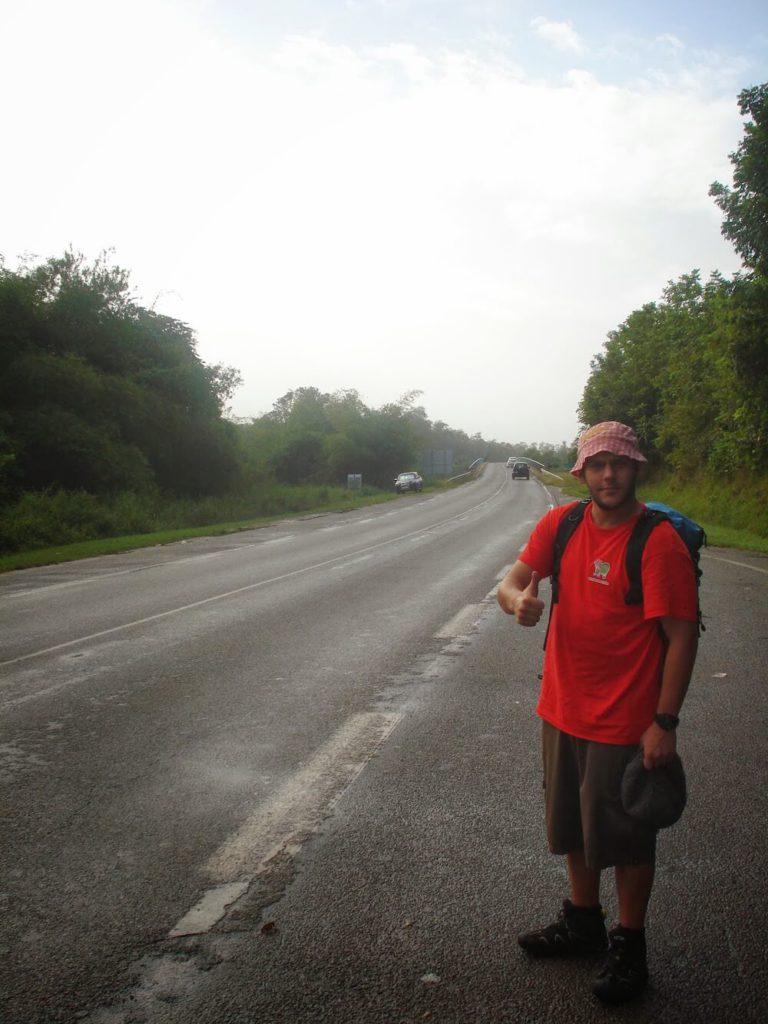 faire du stop en Guyane
