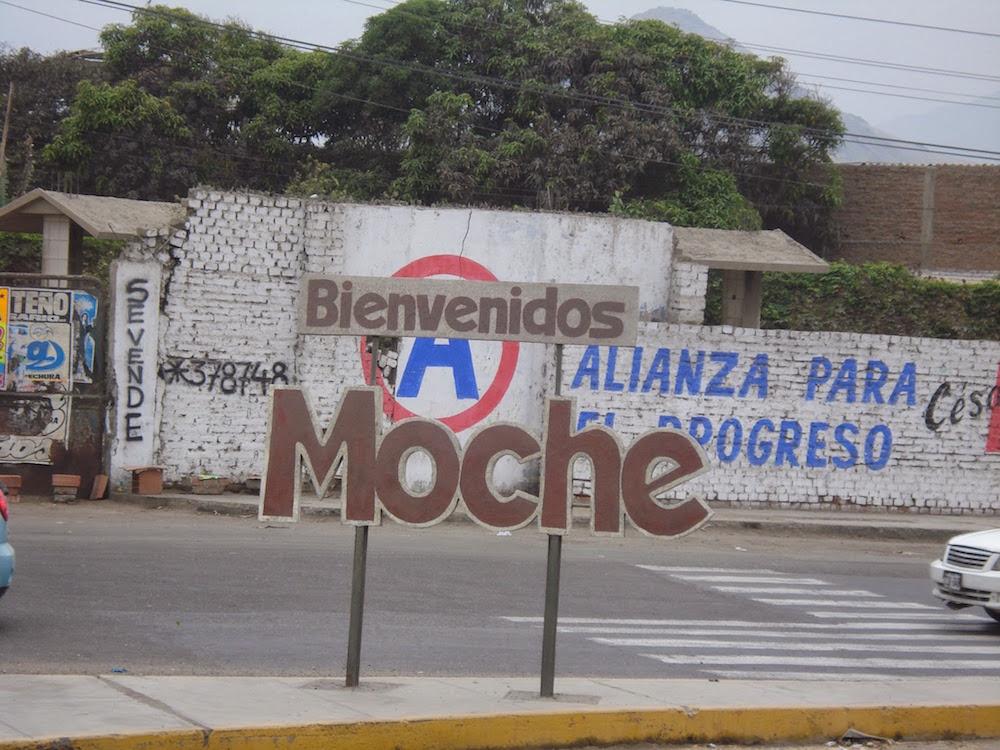 territoire moche Pérou