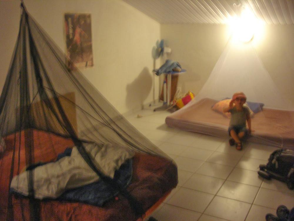 Installation des moustiquaires en Guyane