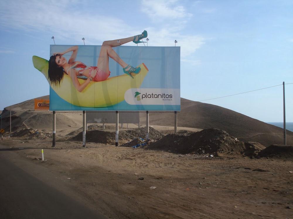publicité pour Platinites panaméricana Pérou