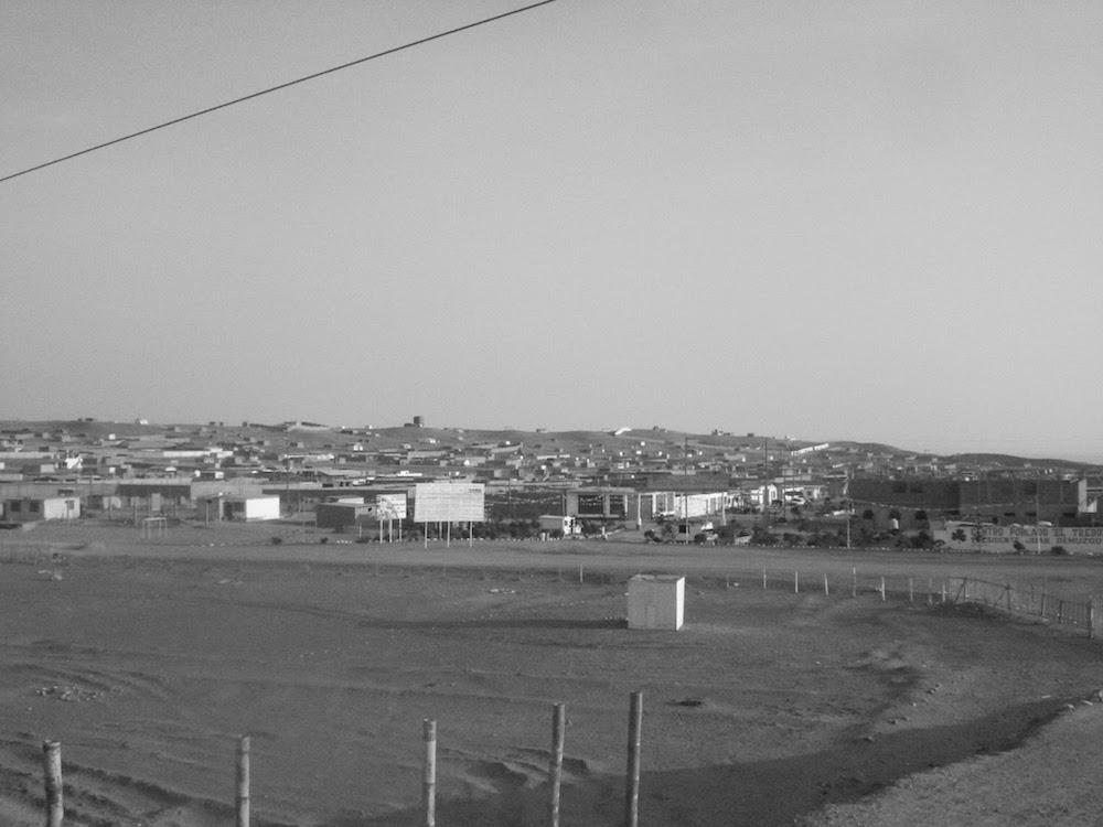 ville perdue sur la panamericana Pérou