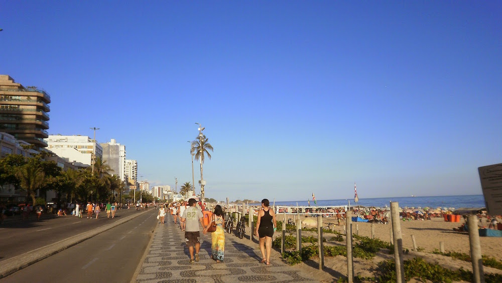 bord de plage ipanema