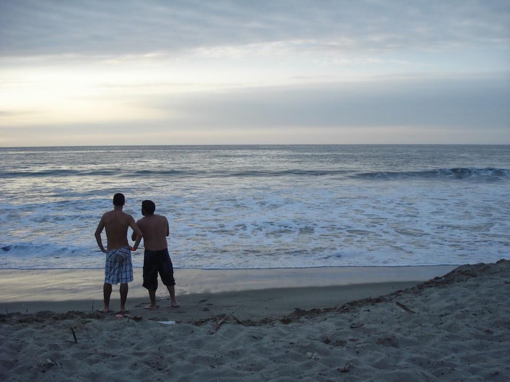 plage the point à Mancora Nord Pérou