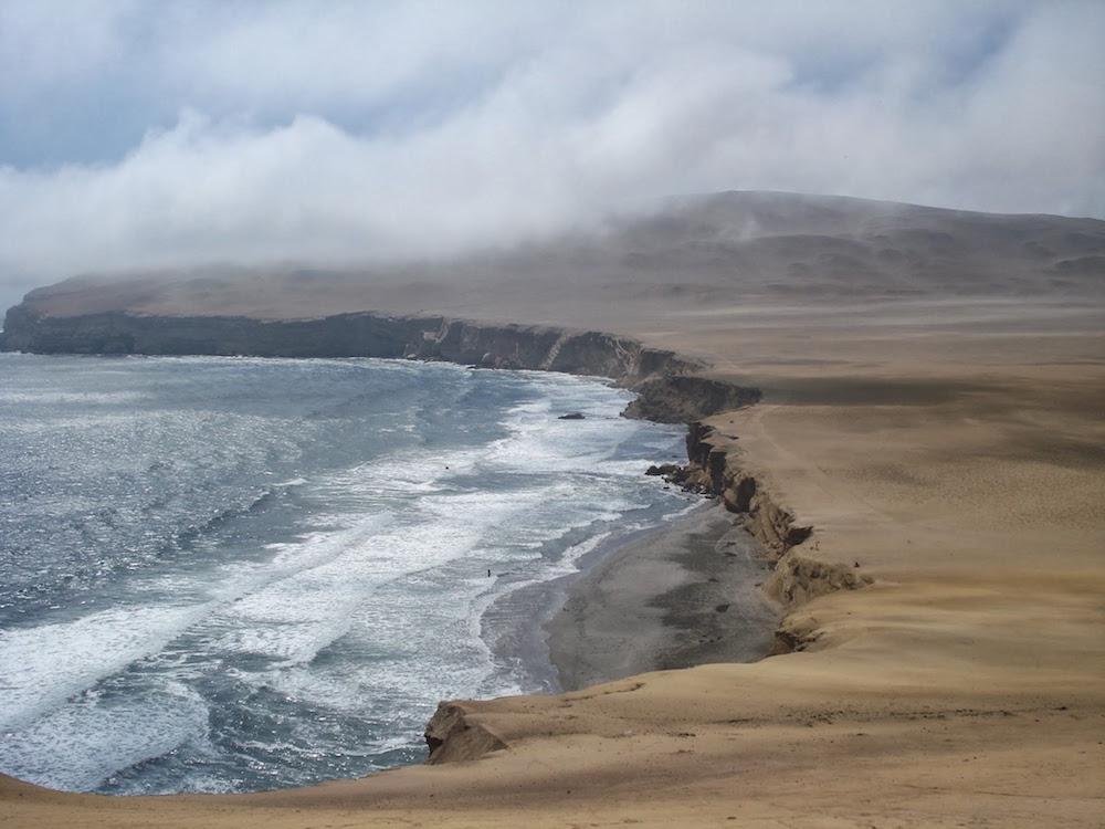 plage désert de Paracas Pérou
