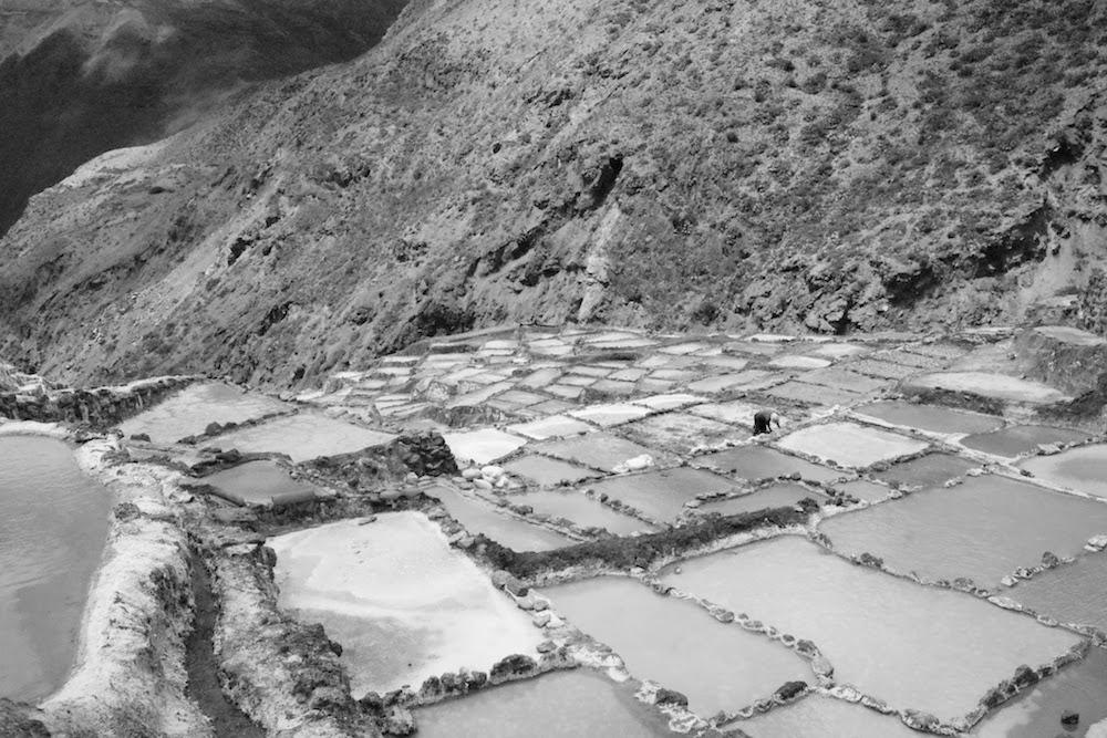 Salines de MAras vallée sacrée des incas Pérou