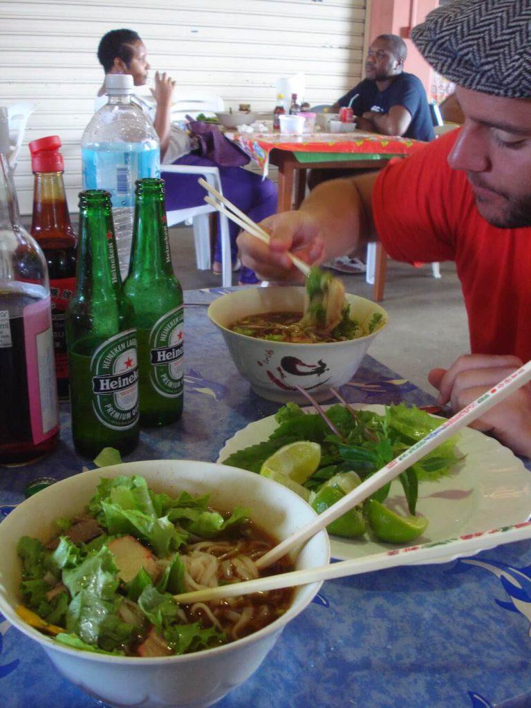 soupes chinoises saint laurent du maroni Marché Guyane