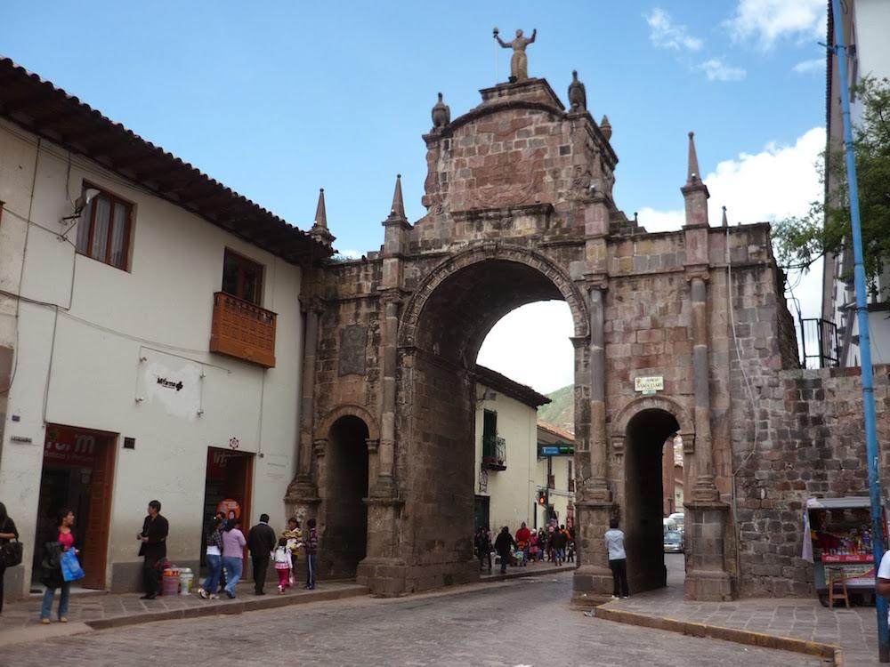 ancienne porte de ville Cuzco Pérou