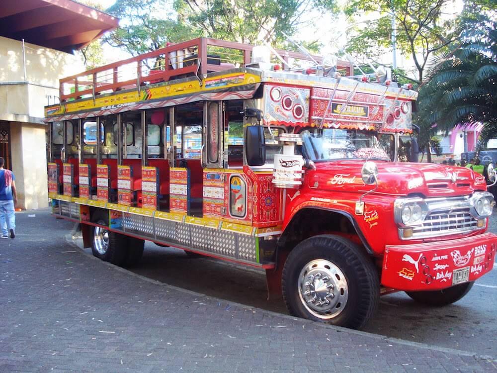 autobus Chivas Medellin Colombie