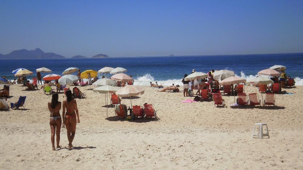 plage copacabana bikini rio