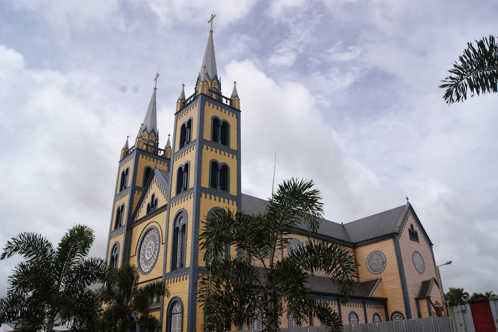 Cathédrale paramaribo Suriname