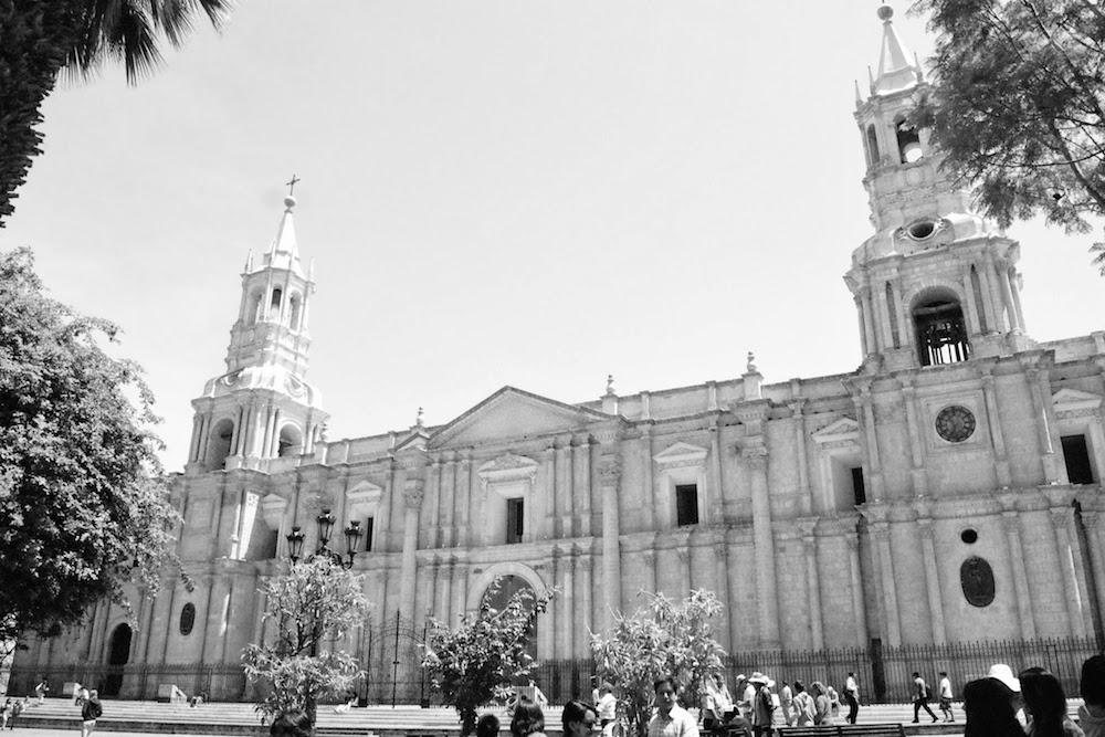 Cathédrale blanche Arequipa Pérou