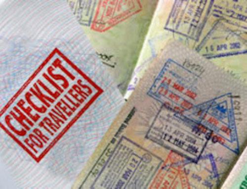 Retour de voyage en Amérique du sud: Checkons la Check List