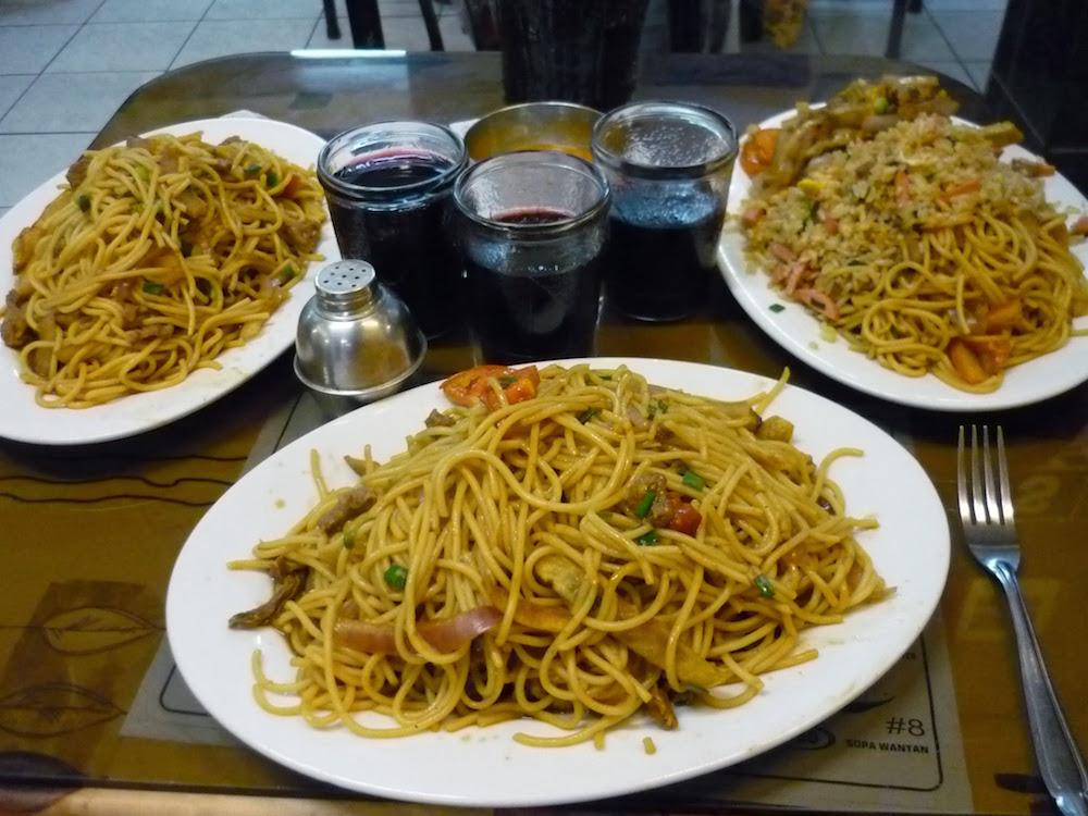 chiffas - spécialités culinaires péruviennes