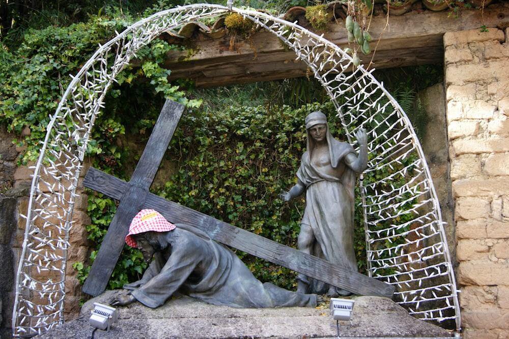 chemin de croix montserrate Bogota Colombie