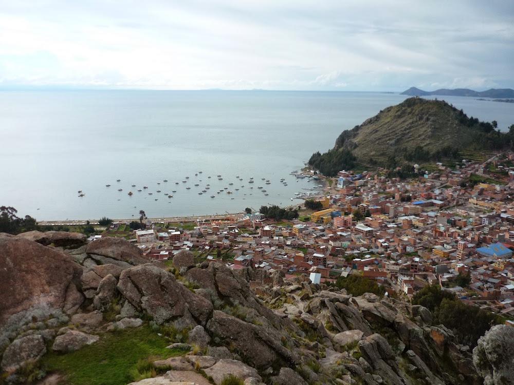 copaccabana titicaca frontière bolivie pérou